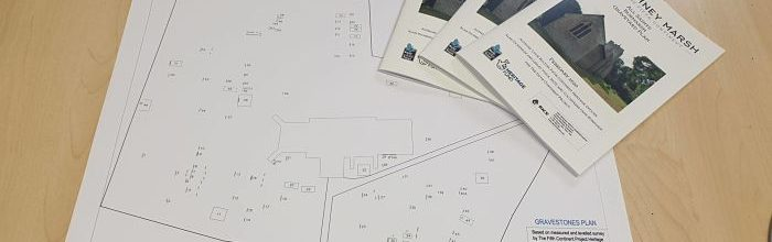 Booklet & plan produced for graveyard survey