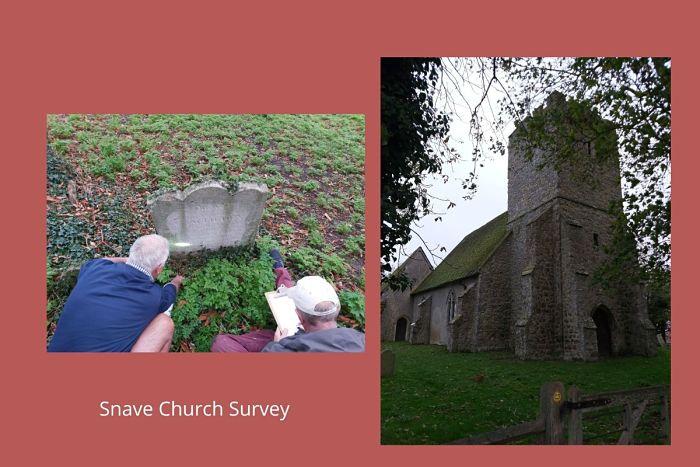 Snave church survey