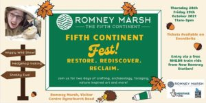 Fifth Continent Festival @ Romney Marsh Visitor Centre